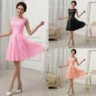 Women Sexy Long Chiffon Evening Formal Party Cocktail Dress Bridesmaid Prom N4U8
