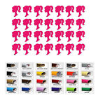 Barbie stickers Vinyl Sticker for princess party cup decals girl kids birthday