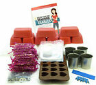 Wedding favour candle making kit. Votive & love heart melts. Organza bags 50/100