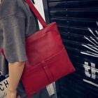 Women Shoulder Bags Washed Messenger Bag PU Leather Casual Handbag High-Q SHBT