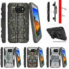 For Samsung Galaxy S7 Active G891A Rugged Holster Clip Stand Case Fishing