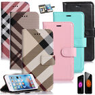 Hybrid Leather SLIM Wallet Card Flip Stand Case Cover for iPhone 7 6 / 6S Plus