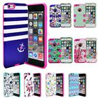 Tough Hybrid Shockproof Armor Protective Case Cover for Apple iPhone 5 5S 6 6S +