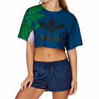 Adidas Originals Tops - Adidas Originals Floral Engraving Crop T-shirt