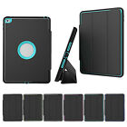 Shockproof Heavy Duty Hard Case & Smart Cover for Apple iPad 4 3 2 mini Air