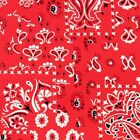 ARROYO BANDANA RED ALEXANDER HENRY QUILT SEWING FABRIC ** Free Oz Post ***