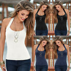 Sexy Women Fashion Summer Vest Top Sleeveless Blouse Casual Tank Tops T-Shirt