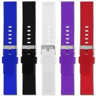 22mm Silicone Band Strap Bracelet Replacement For Pebble Time Steel Smart Watch