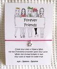 Wish String Friendship Bracelet -  Girls Party Favours ...Forever Friends...
