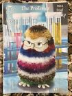 Soft Toys Knitting Pattern  Hedgehog And Owl Tinsel Chunky Wool