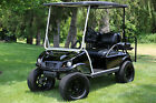 CLUB CAR DS ELECTRIC GOLF CART CUSTOM LIFTED 4 SEATER MANY XTRAS MINT NO RESERVE