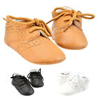 0-18M Baby Girls Boys PU Leather Crib Shoes Kids Toddler Soft Sole Casual Shoes