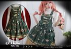Lolita aristrocra​t Golden Ferris wheel wonderland spaghetti dress G JI3017