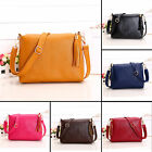 CHI New Womens Leather Tassel Handbag Crossbody Bag Messenger Tote Purse Satchel