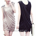 NEW  Women Sequin BodyCon Party Cocktail Evening Wedding Sleeveless Mini Dress