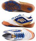 AGLA PROFESSIONAL NEW MATCH INDOOR WHITE/GOLD scarpe calcetto futsal anti-shock