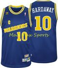 TIM HARDAWAY Golden State WARRIORS Road NBA HWC Throwback SWINGMAN Jersey S-2XL