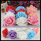 1 Bunch Artificial Foam Rose Home Bouquet Wedding Party Craft Decor Beautiful AU