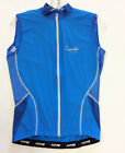 Women's Monella Sleeveless Cycling Jersey - in Blue- Made in Italy by Santini
