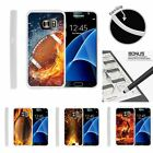 samsung galaxy s player - For Samsung Galaxy S7 Edge Case Slim Fitted Flexible TPU Football Sport