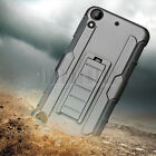 Heavy Rugged Hybrid Shockproof Armor Case Hard Cover For HTC Desire 530 555 630