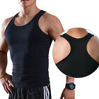 New Men's Body Shaper Slimming Abdomen Compression Vest Shirt Tank Top Underwear