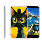 For ZTE Imperial Max   Grand X Max 2 Slim Fitted Flexible TPU Case Cartoons