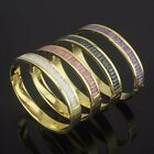 b850 titanium steel stainless crystal conspicuous hot newest originality bangle
