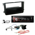 Volkswagen EOS Golf V Touran Fitting Kit + Pioneer DEH-4700DAB Car DAB Stereo