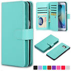 For Samsung Galaxy S7 / S7 EDGE Luxury Leather Flip Card Hold Wallet Case Cover