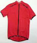 Primo Short Sleeve Cycling Jersey - in Red - Made in Italy by Santini
