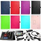 "Folio PU Leather Case Cover Stand Wake/Sleep For Amazon Kindle Fire HD 8.9"" 2012"