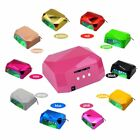 110V-220V Diamond Shape LED 36W UV Nail Lamp Gel Dryer Light Timer Curing Polish
