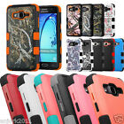 Shockproof Dual Layered Hybrid Case+Skin Cover for Samsung Galaxy On5 G550