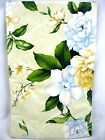 Assorted Sizes Southern Charm White Blossoms Floral Vinyl Tablecloth FREE SHIP