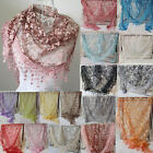 Fashion Pattern Women Long Scarf Wrap Ladies Shawl Girls Silk Scarves NEW