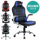 GTFORCE BLAZE RECLINING LEATHER SPORTS RACING OFFICE DESK CHAIR GAMING COMPUTER