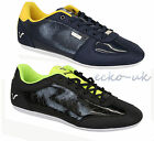 Mens Trainers Voi Jeans Shoes Winchester Fluro Lace Up Crocodile Patent Neon New