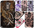 For LG G Stylo 2 PLUS MS550 IMPACT TUFF HYBRID Protector Case Skin Phone Cover