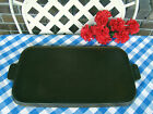 Griswold Cast Iron Small Logo #8 Long Griddle – #908 – Cleaned and Seasoned