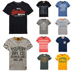 New Mens Superdry T-Shirts DD Selection