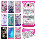 For Samsung Galaxy On5 G550 HYBRID IMPACT Dazzling Diamond Case Phone Cover