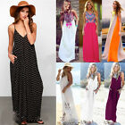 NEW Ladies Celeb Floral Maxi Boho Summer Long Skirt Evening Cocktail Party Dress