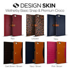 "iPhone 6S/ 6(5.5"") Case, Wetherby BASIC SNAP - Leather Flip w/ Card Storage"