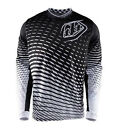 NEW 2017 TROY LEE DESIGNS GP TREMOR MOTO DIRTBIKE JERSEY BLACK/WHITE ALL SIZES