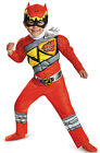 Red Ranger Dino Charge Muscle Toddler Costume