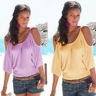 Fashion Women Ladies Summer Loose Top Long Sleeve Blouse Casual Tops T-Shirt
