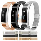 Milanese Stainless Steel Mesh Watch Band Bracelet Strap w/ Clasp for Fitbit Alta