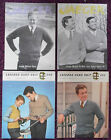 Various Knitting Patterns Mens Sweaters Pullovers - Choose from Drop-down Menu