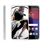 For Alcatel POP 4+ Slim Fitted Flexible TPU Case Basketball Sport